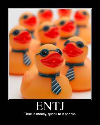 Tapping into my ENTJ-ness