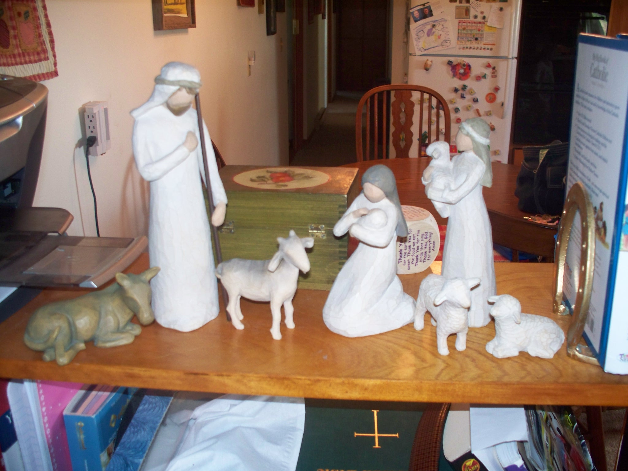 Hide-and-Seek with the Holy Family