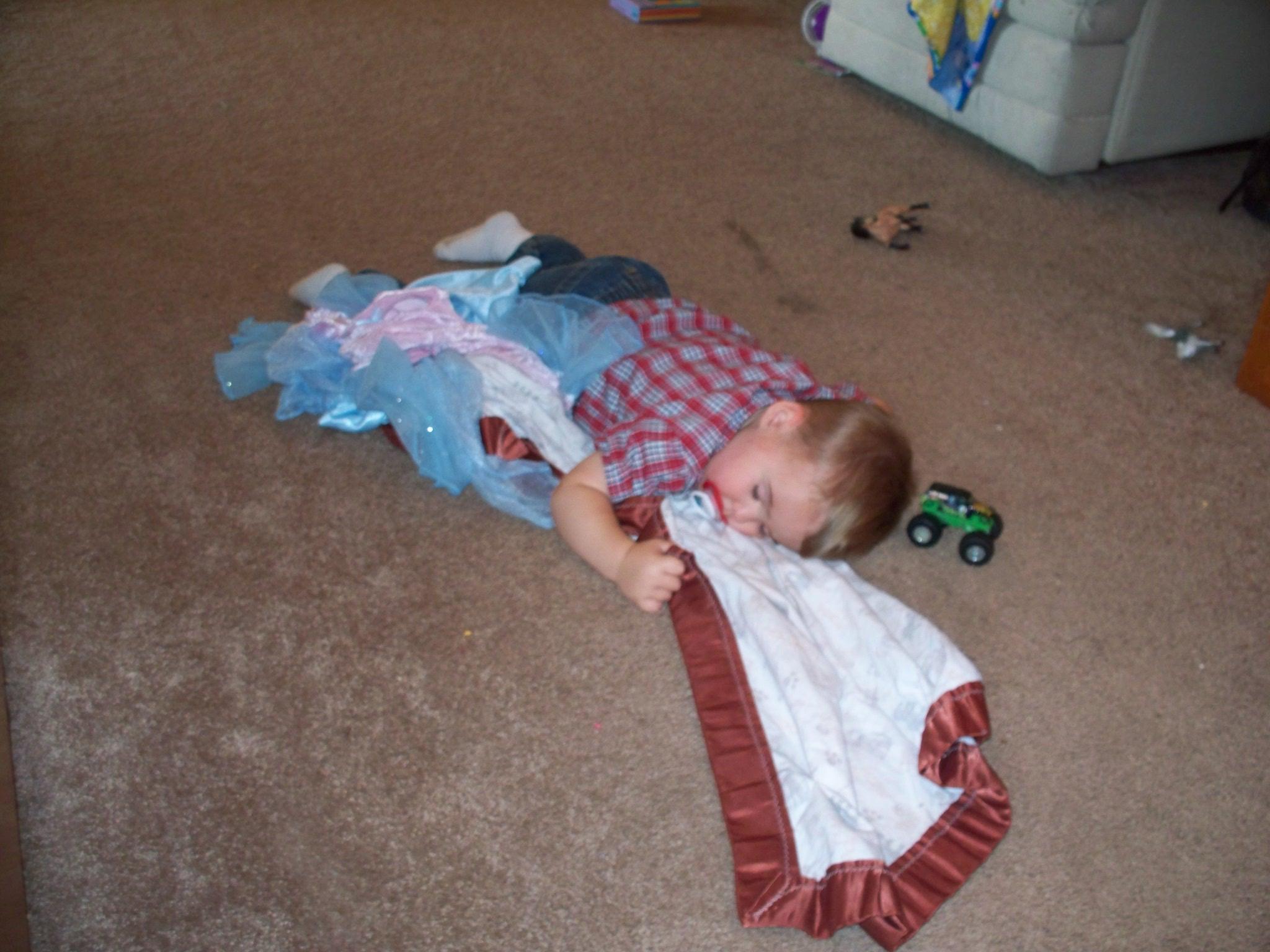 Wordless Wednesday: a boy's gotta do…