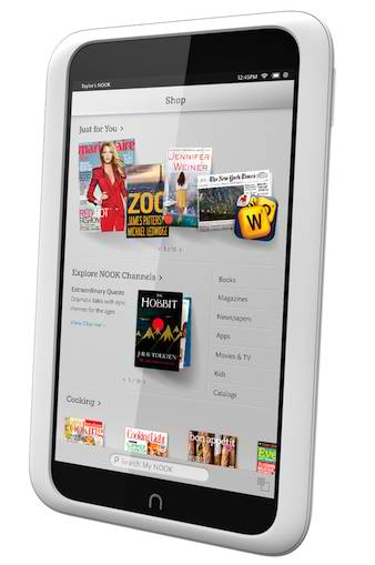 Last Chance for Nook Tablet