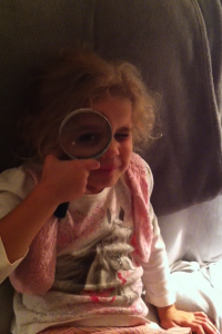 Mer with magnifying glass by susie