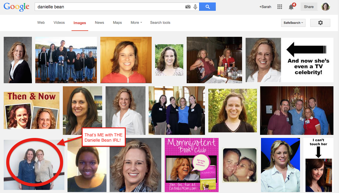 I Googled Danielle Bean to Find a Picture…