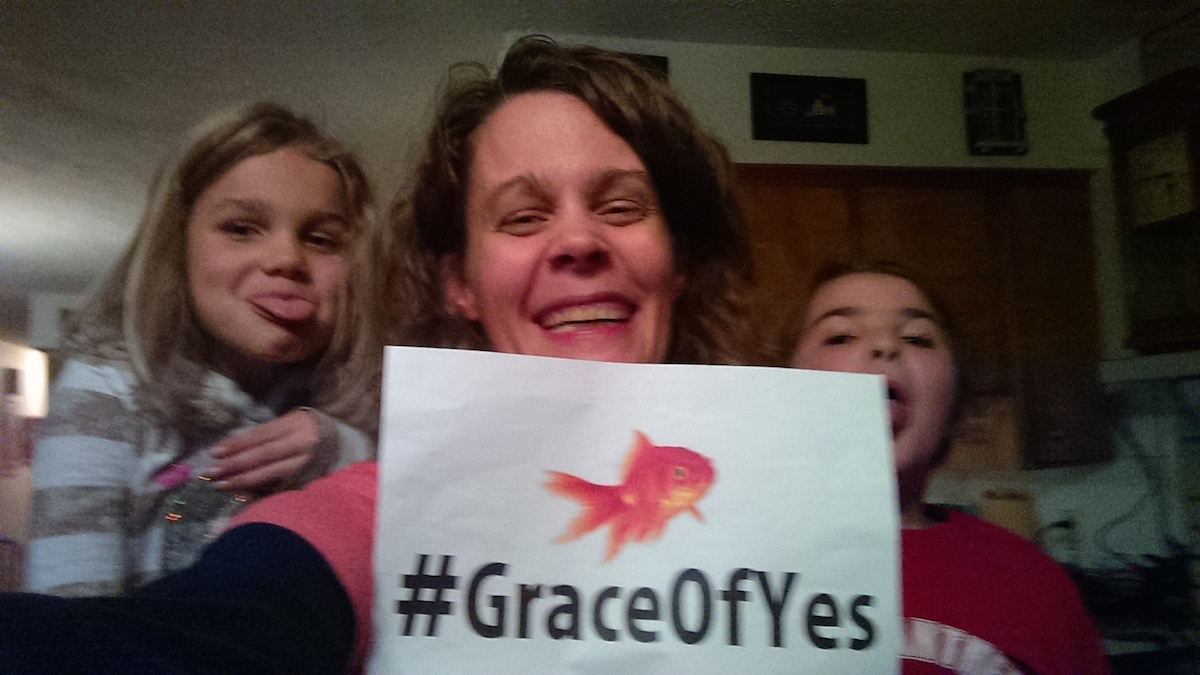 """What """"Yes"""" Means to Me #GraceofYesDay"""
