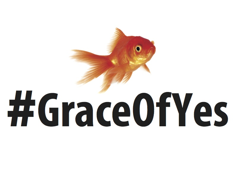 What Yes Means to Me #GraceofYesDay