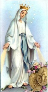 mary miraculous medal