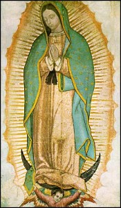 our lady guadalupe from photo