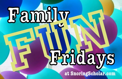 Family Fun Friday: Picnic in the Backyard