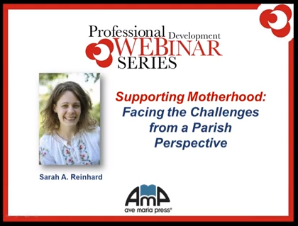 Supporting Motherhood: Webinar
