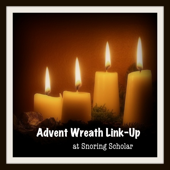 Advent Wreath Link-Up Fun [with updates]