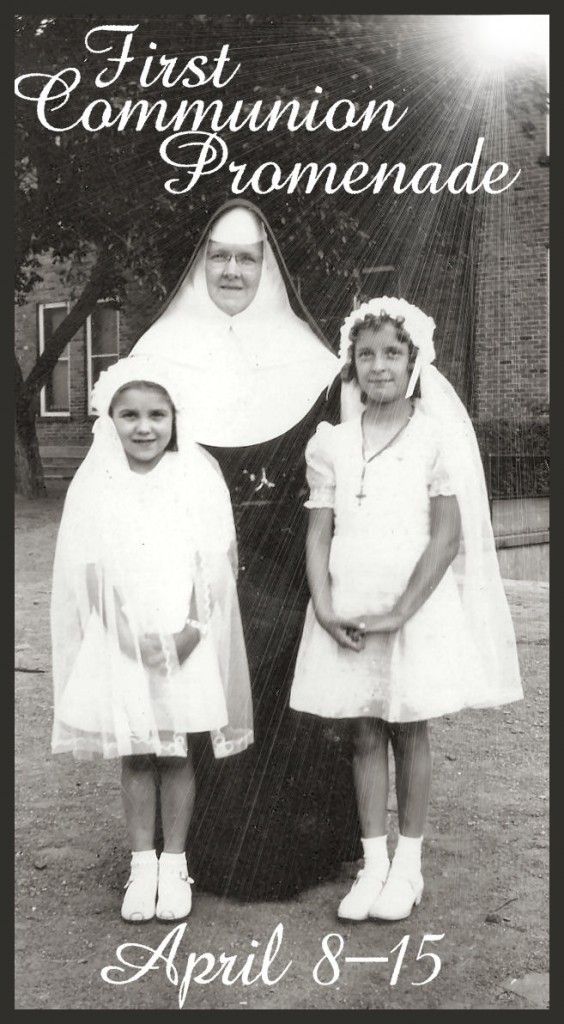 first communion promenade series