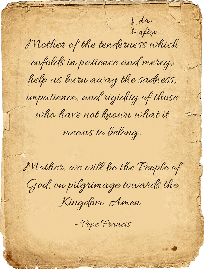 Mother-of-the-tenderness