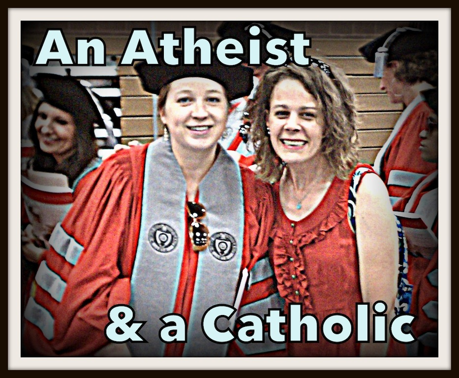 Are faith and reason mutually exclusive? {An Atheist and a Catholic}