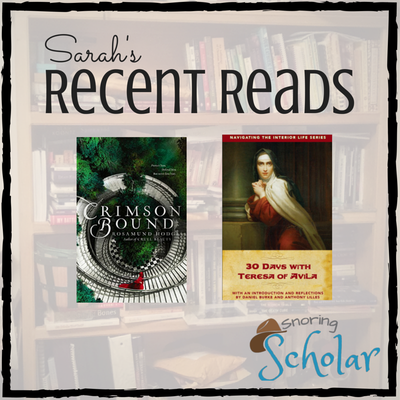 Recent Reads: Amazing Fiction and Saintly Brilliance