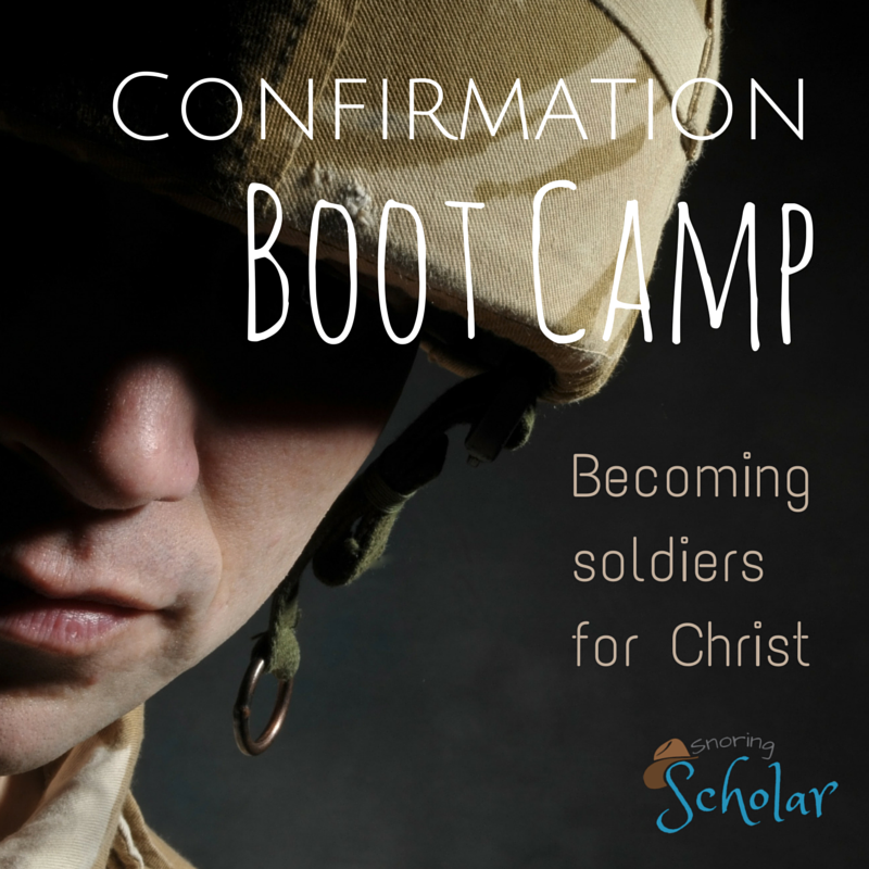 Confirmation Boot Camp, Day 1