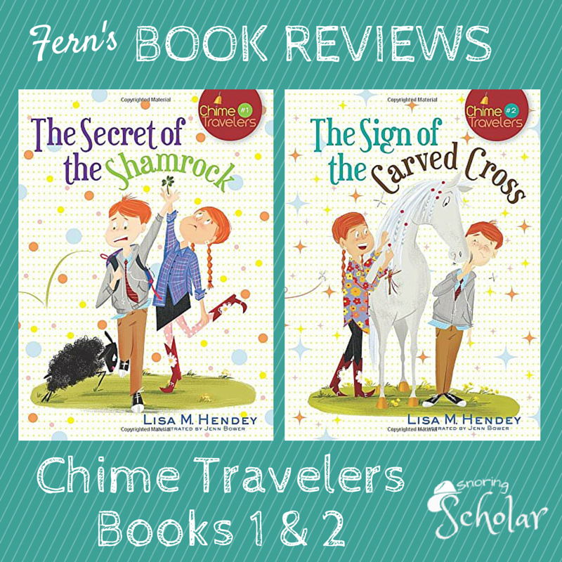 Fern Reviews Chime Travelers, Books 1 and 2