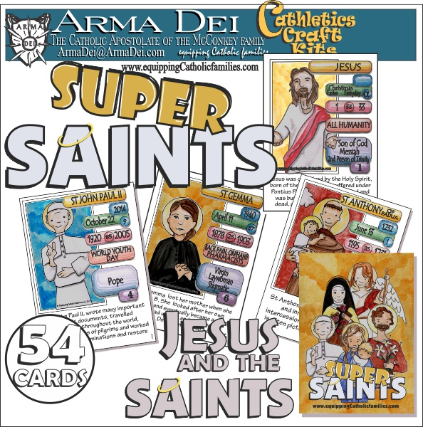 Cathletics and Saints: Super Saints from Arma Dei