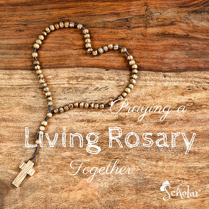 Will you join us in a Living Rosary?