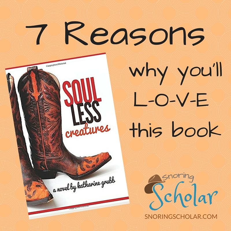 7 Reasons You'll Love Soulless Creatures - Sarah Reinhard Snoring Scholar