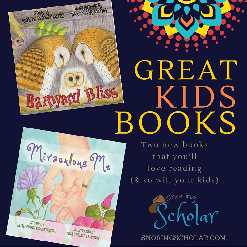Great Kids Books: Barnyard Bliss and Miraculous Me