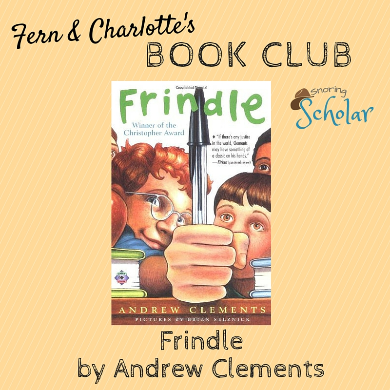 'Frindle' by Andrew Clements: 5 Stars from My Girls