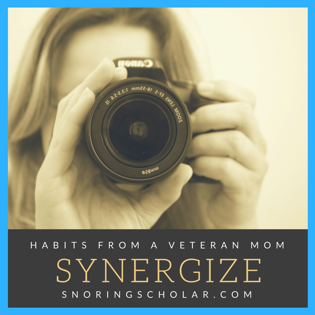 Synergize is more than just a catchy word from the mid-90s.