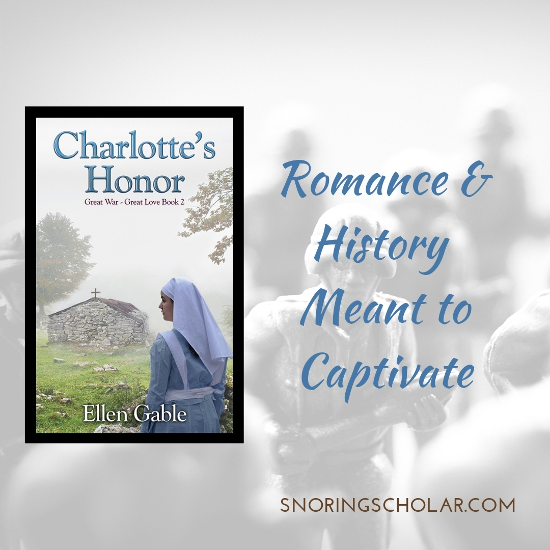 Charlotte's Honor, a review by Sarah Reinhard at SnoringScholar.com