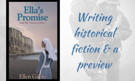 What it's like to write historical fiction (and a preview of Ella's Promise)