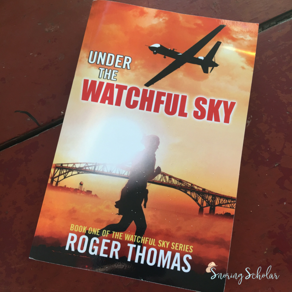 Dare I say this is dystopian done right? Why yes, I do. Call this my summer pick for you: Under the Watchful Sky, by Roger Thomas. #yourewelcome