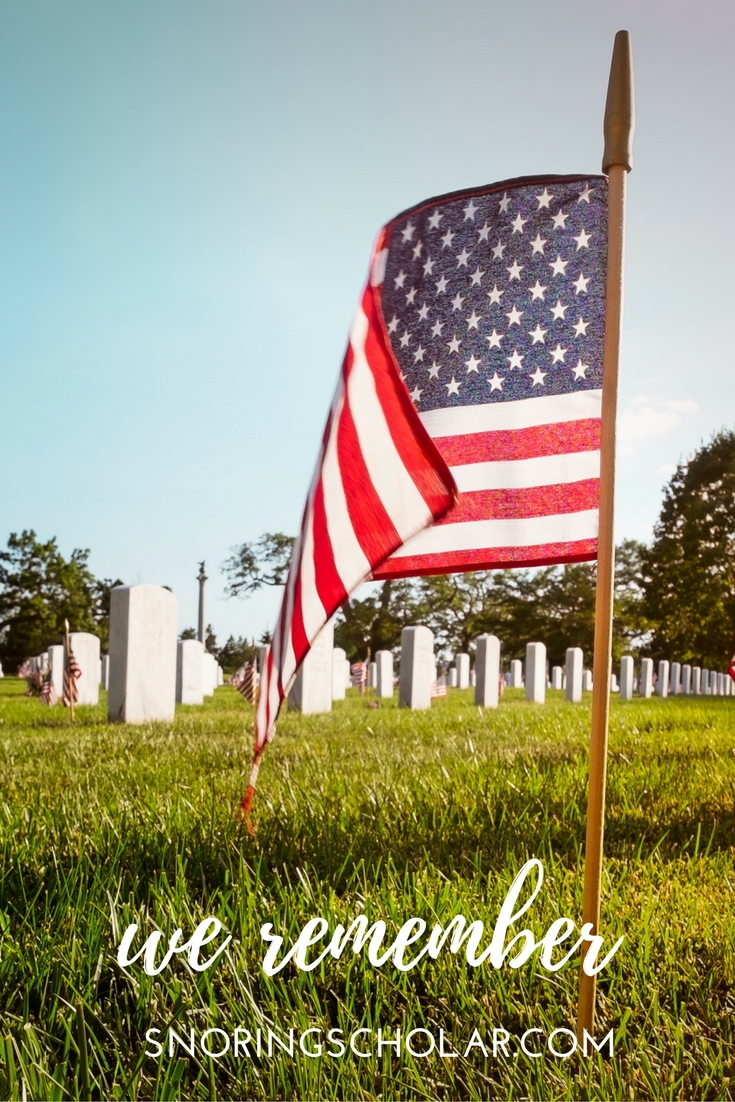 On Memorial Day, join me in praying for those who have given the ultimate sacrifice for our country.