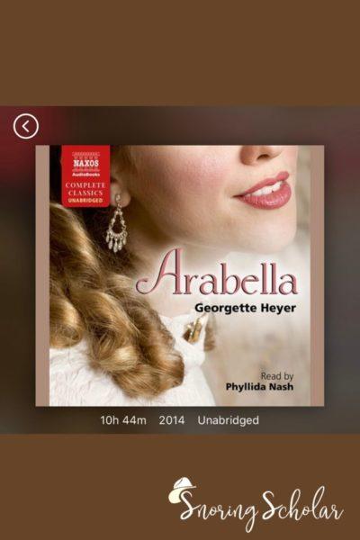 A delightful listen: Arabella - highlight of my October reading - SnoringScholar.com