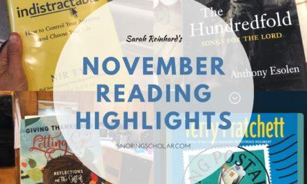 Highlights from my November reading