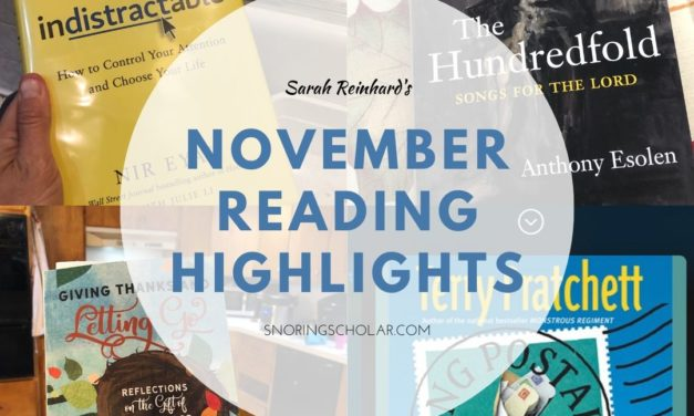 Highlights from my November reading