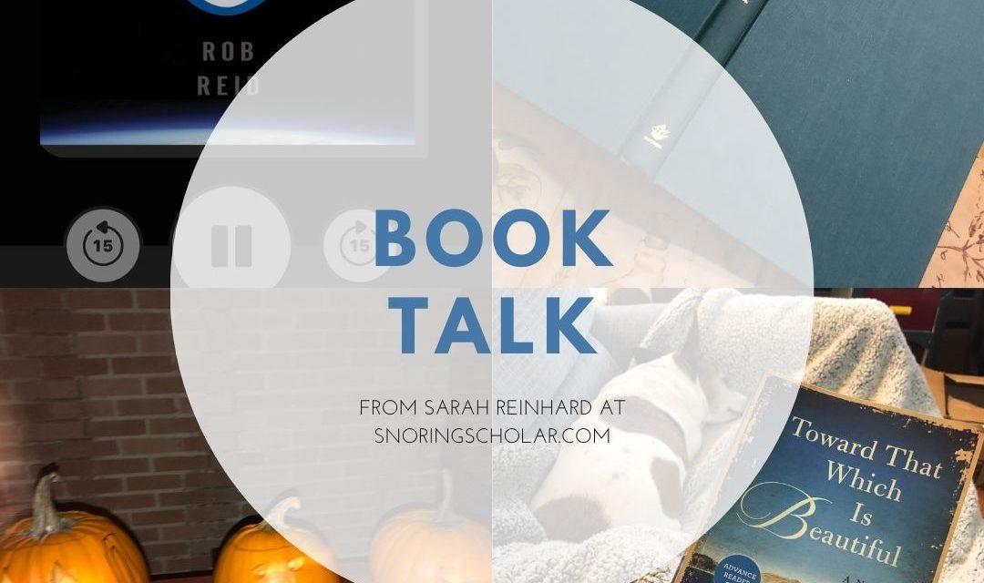 Book Talk: My three latest reads