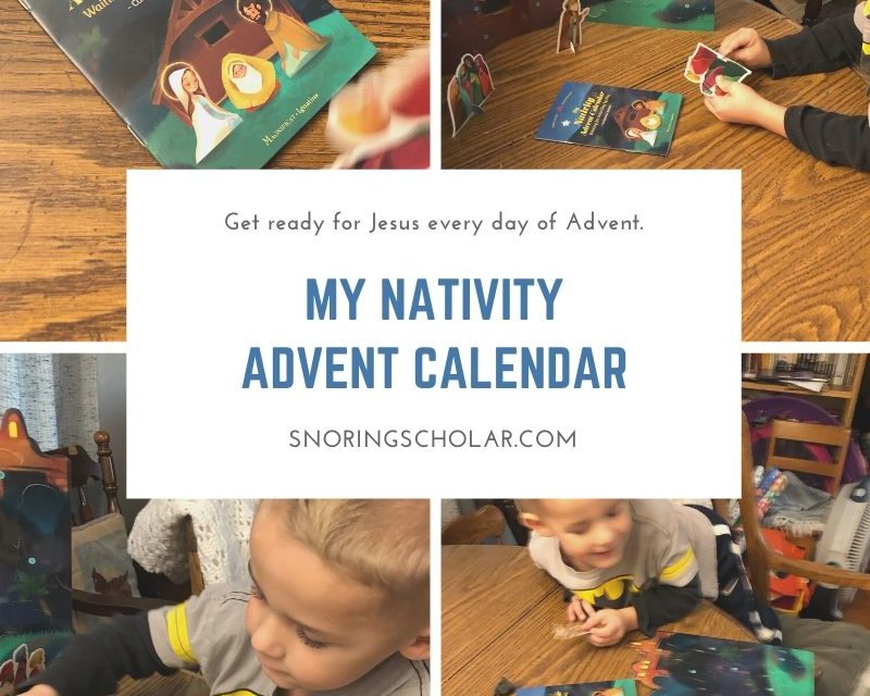 My Nativity Advent Calendar